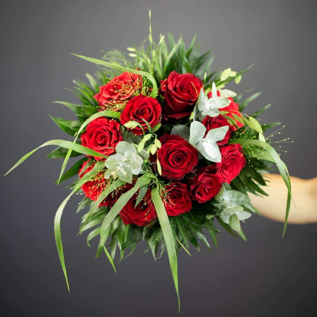 Bouquet De Fleur Pour St Valentin passion