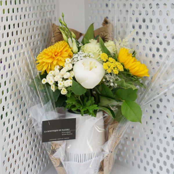 Un distributeur de fleurs à Coutances