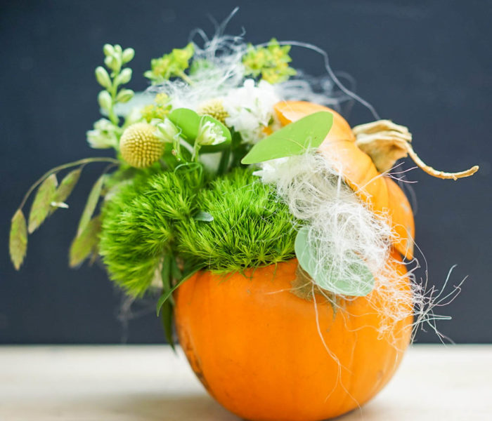 Atelier art floral spécial Halloween